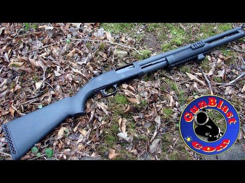 Mossberg 500 Shotgun with Center Mass Laser