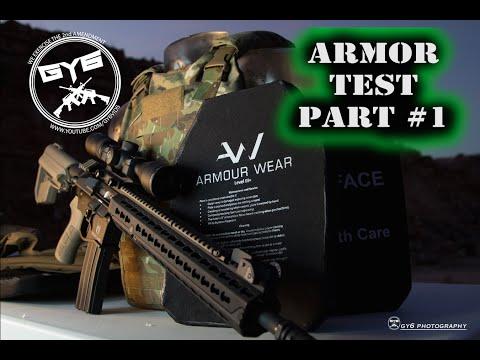 Armour Wear Body Armor - Perforation Test