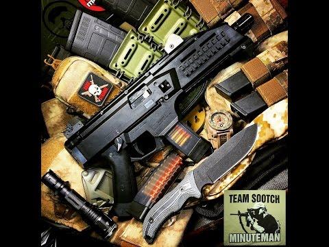 CZ Scorpion EVO 3 S1 Pistol Review