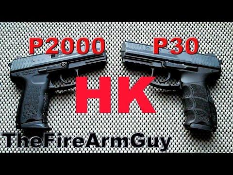 Heckler Koch Pistol Comparison - HK P2000 vs HK P30