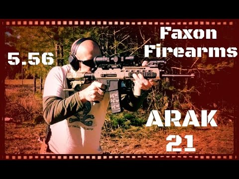Faxon Firearms ARAK-21 AR-15 and AK-47 Hybrid