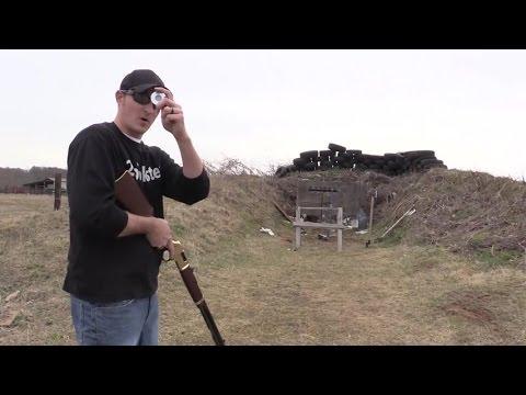 Henry Rifle Trick Shot