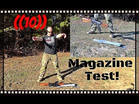 Circle 10 AK Magazine Torture Test