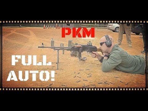 PKM Full-Auto - Gun Videos