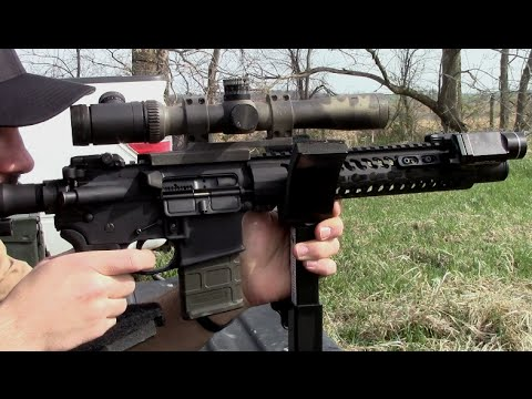300 Blackout AR Pistol Accuracy Test