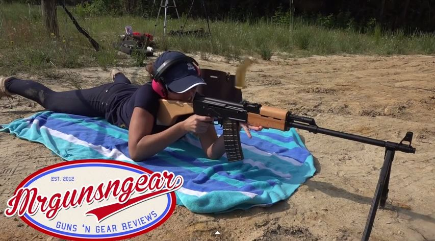 Arsenal RPK-5S Ejected Shell Case Takes Video Camera