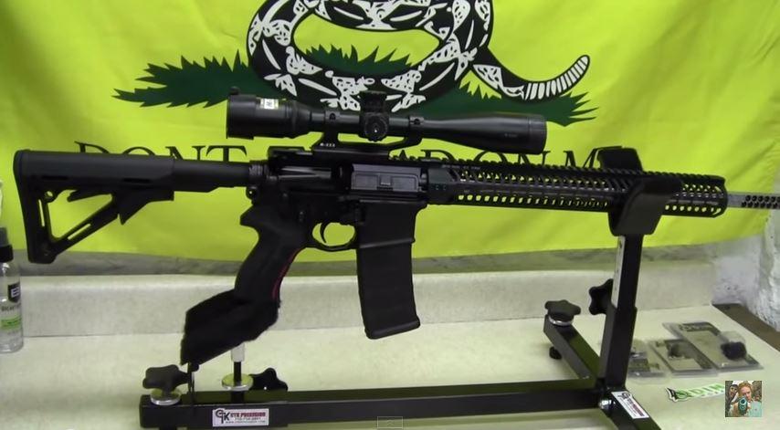 Ebomeys AR-15 Rifle Build