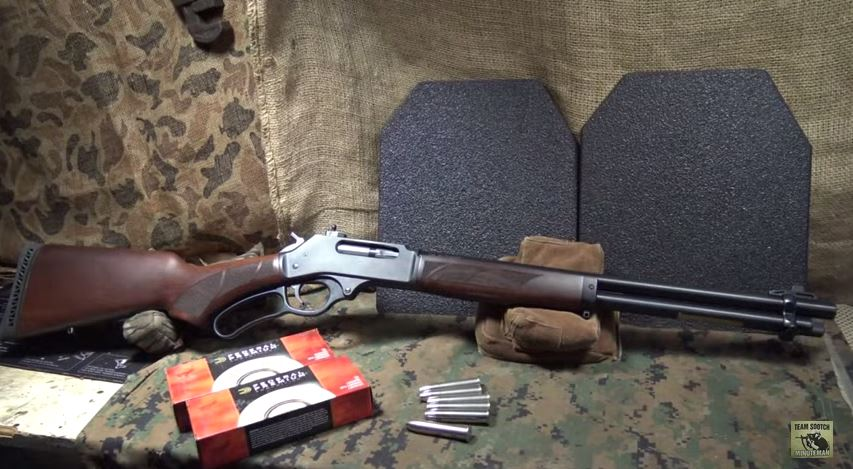 Henry 45-70 Government Lever Action Rifle