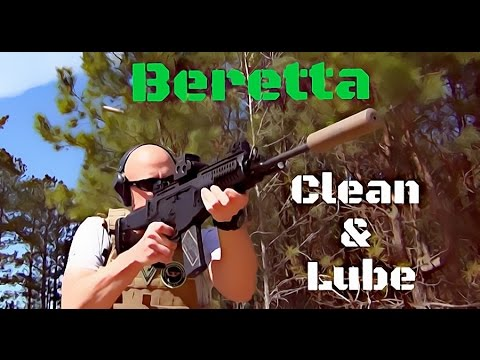 Beretta ARX-100 Cleaning and Lubrication