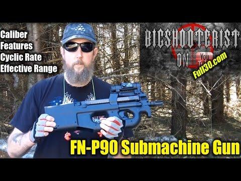 FN P90 Submachine Gun