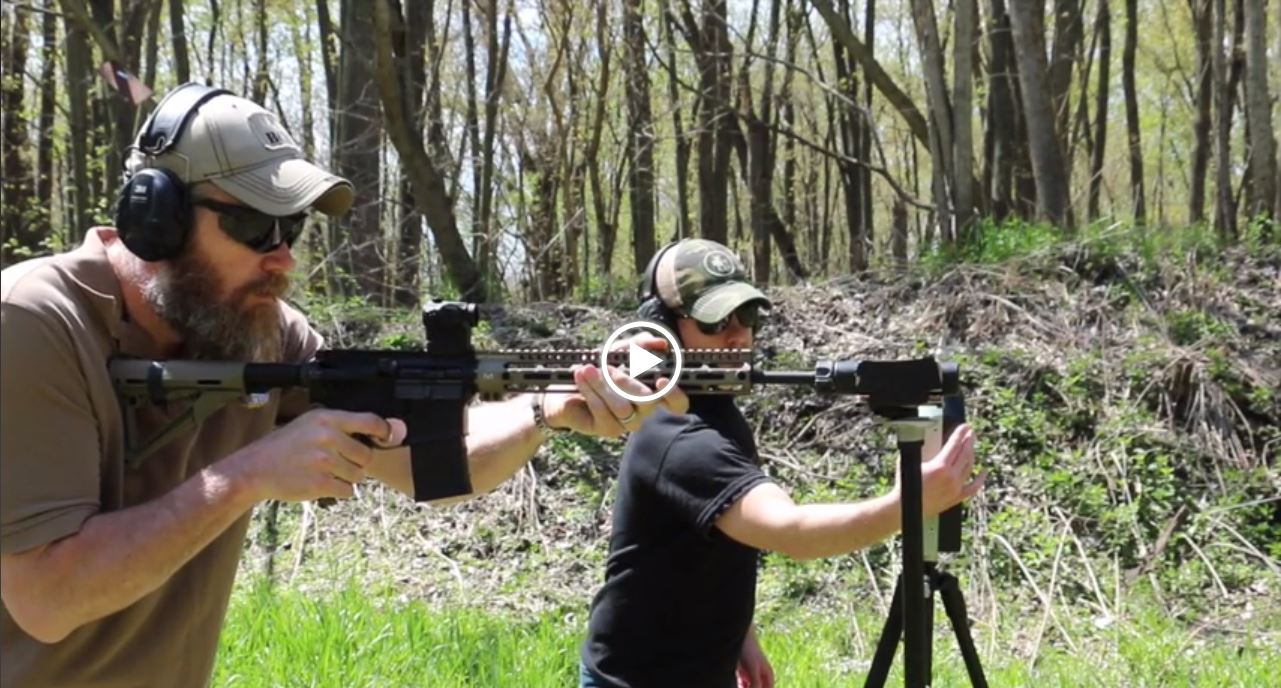 556 Suppressor Testing
