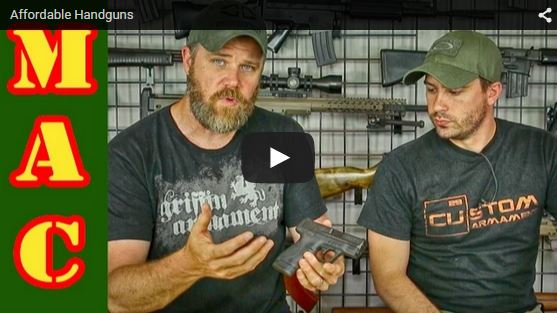 Affordable Handguns for Personal Defense