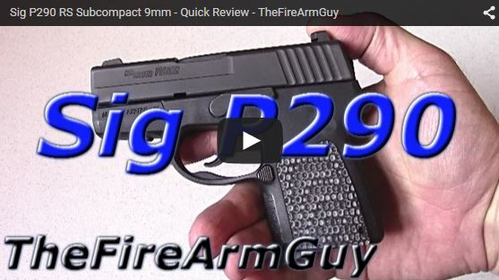 Sig P290RS Sub-Compact 9mm