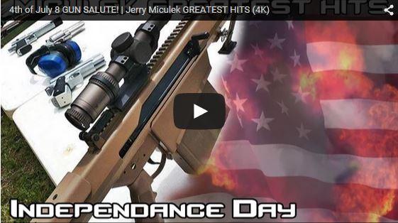 Jerry Miculek 4th of July 8 Gun Salute