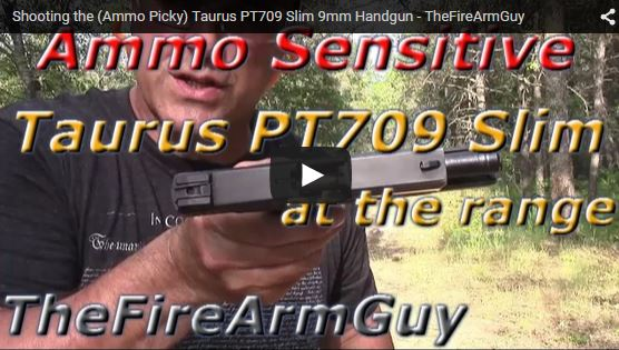 Taurus PT709 Slim 9mm Failure to Eject