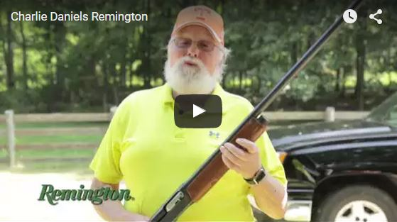 Remington Promo with Charlie Daniels