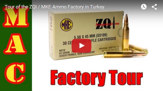 ZQI Ammunition Factory Tour