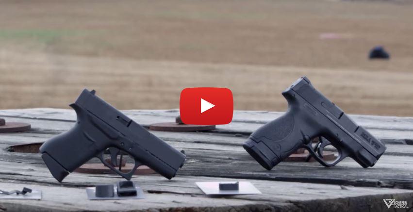 Glock 43 vs Smith Wesson MP Shield