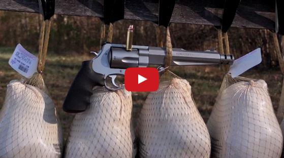 500 SW Magnum vs Frozen Turkeys