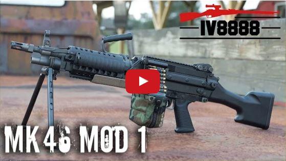 MK 46 MOD 1 Machine Gun