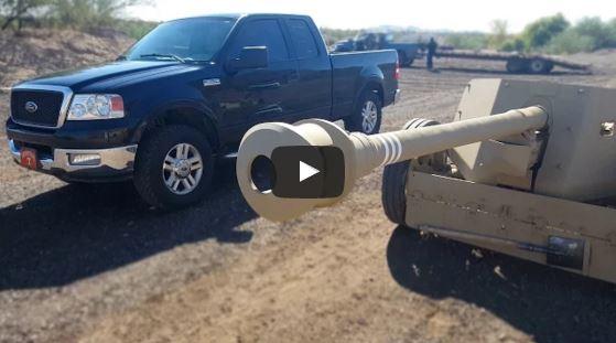 PAK 40 75 mm Anti-tank Gun vs Ford F150