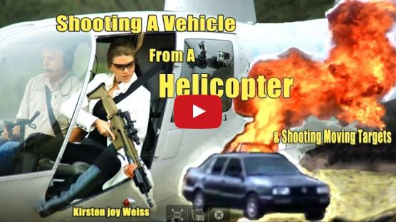 Shooting a Car from a Helicopter