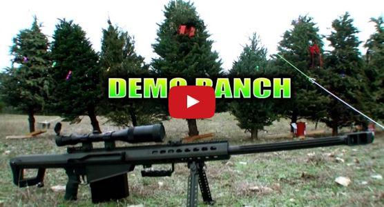 Barrett M82A1 Christmas Tree Disposal