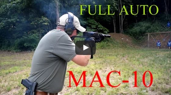 Suppressed MAC-10 Submachine Gun