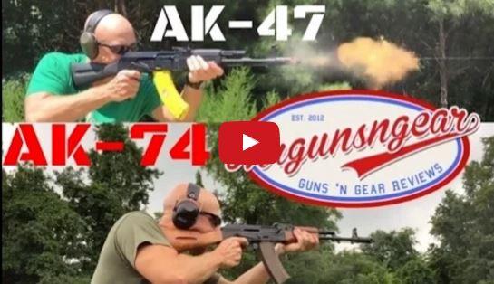 AK-47 vs AK-74