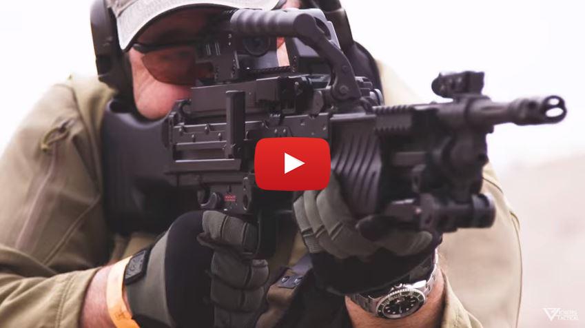 Heckler Koch MG4 Belt-Fed Light Machine Gun