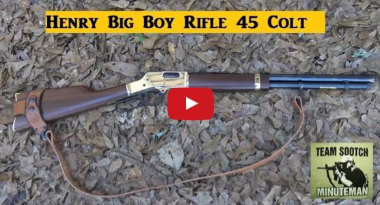 Henry Big Boy Lever Action Rifle 45 Colt