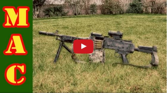 FN M240L Belt-Fed Machine Gun