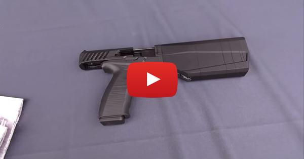SilencerCo Maxim 9 Integrally Suppressed 9mm Pistol