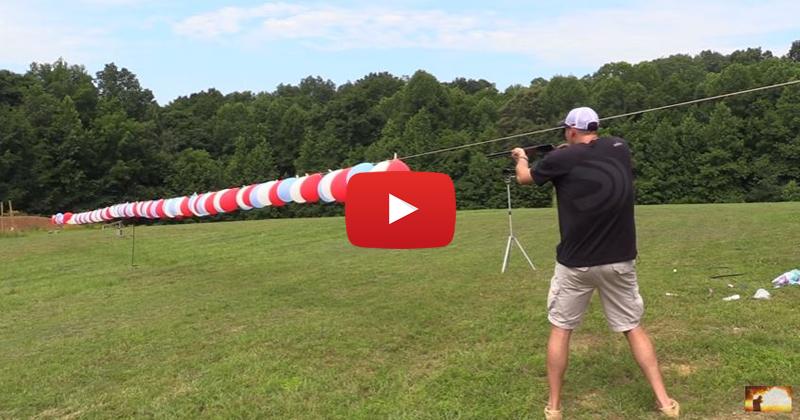 CCI Velocitor 22LR vs 100 Balloons