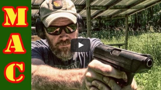 Heckler Koch VP70Z Polymer Frame Pistol