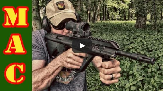 Steyr AUG with ELCAN
