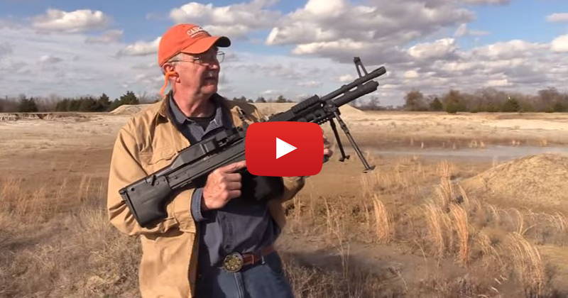 Defending the Texas Countryside with the M60E6 Belt-Fed Machine Gun