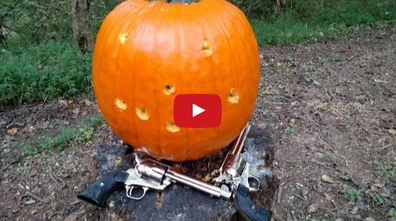 Nickel Colt 45 Pumpkin Carving