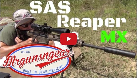 Suppressed Armament Systems Reaper MX Suppressor