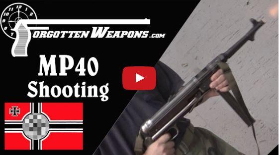 MP40 Submachine Gun - Full Auto Range Demo