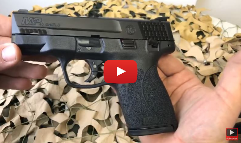 Smith Wesson MP45 Shield with Thumb Safety