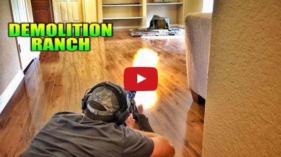 Living Room Shooting Range