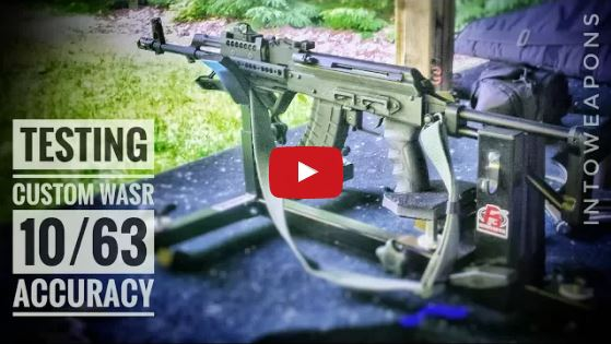 WASR 10-63 AK Rifle Accuracy Test