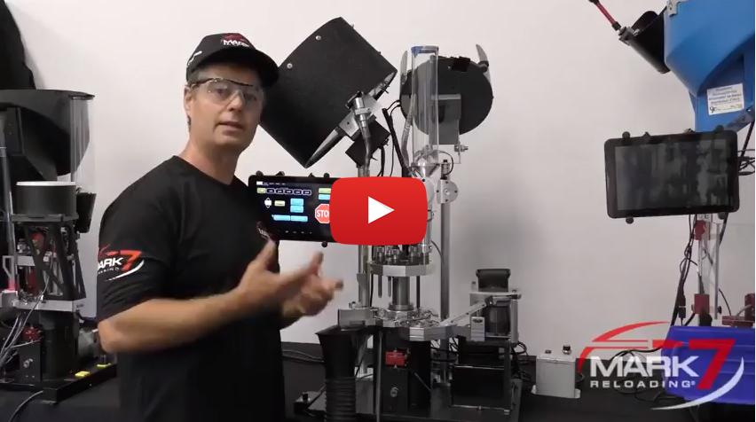 Mark 7 Revolution Commercial Ammo Reloading Machine
