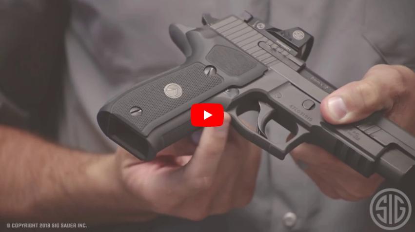 SIG P226 Legion RX Full Size Pistol with ROMEO1 Optic