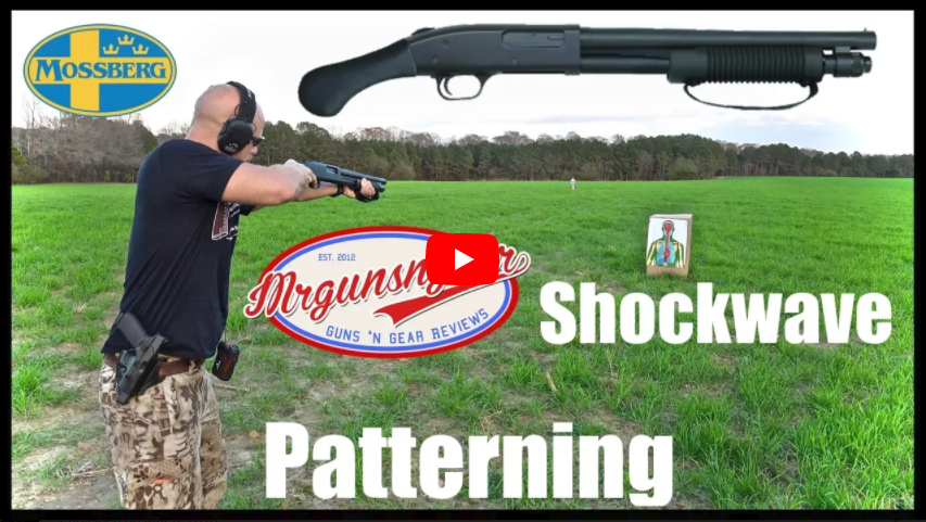 Mossberg 590 Shockwave 12-Gauge Pump-Action Shotgun