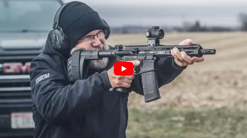Springfield Armory SAINT AR-15 Pistol in 300 BLK