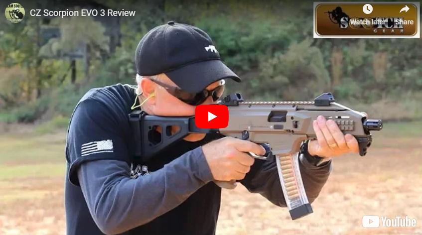 CZ Scorpion EVO 3 S1 Pistol Review and Range Demo
