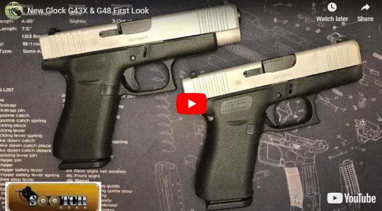 Glock 43X & Glock 48 Review