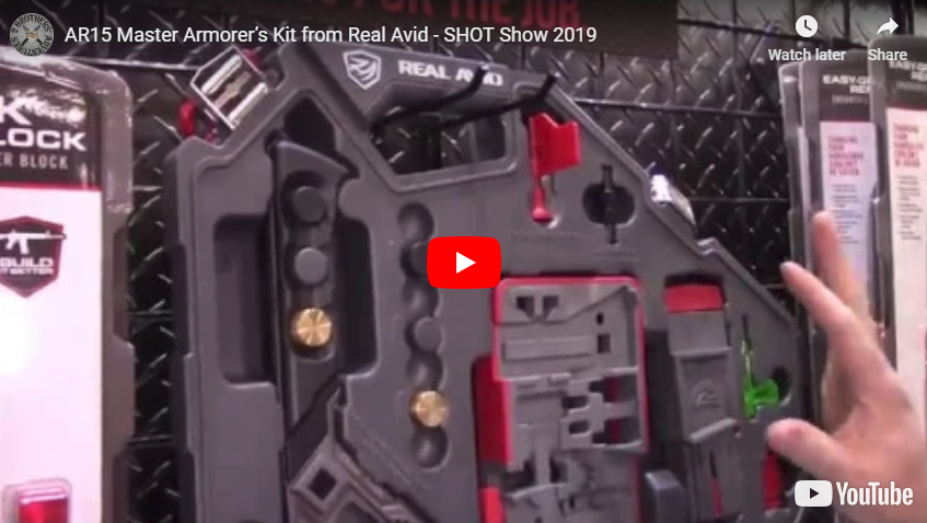 AR15 Armorers Master Kit from Real Avid